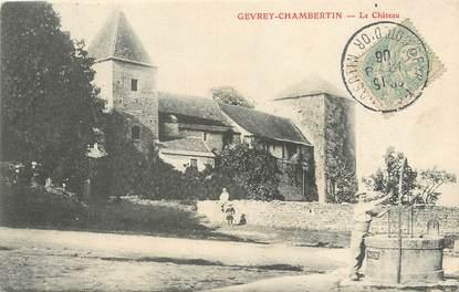 "/ CPA FRANCE 21 ""Gevrey Chambertin, le château"""