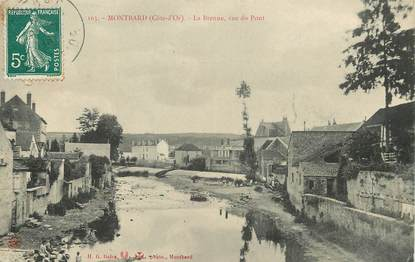 "/ CPA FRANCE 21 ""Montbard, le Brenne"""