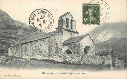 "/ CPA FRANCE 65 ""Sère, la vieille église"""