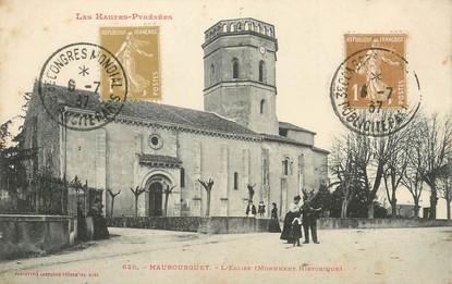"""/ CPA FRANCE 65 """"Maubourguet, l'église"""""""