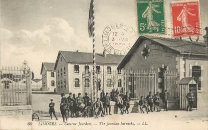 """/ CPA FRANCE 87 """"Limoges, caserne Jourdan"""""""