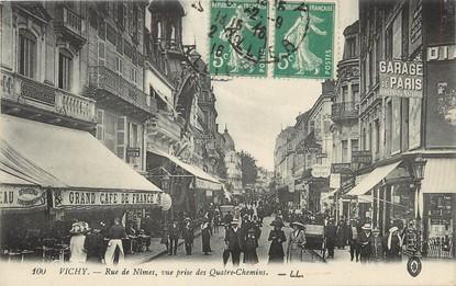 """/ CPA FRANCE 03 """"Vichy,  rue de Nîmes """""""
