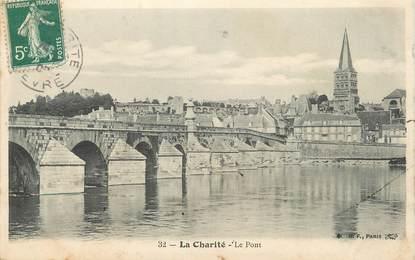 """/ CPA FRANCE 58 """"La Charité, le pont"""""""
