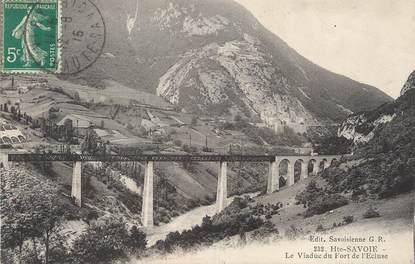 """/ CPA FRANCE 74 """"Le viaduc du fort de l'écluse"""""""