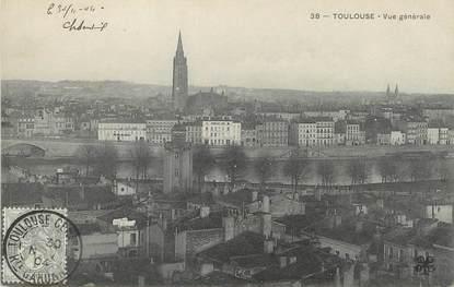 """/ CPA FRANCE 31 """"Toulouse, vue générale"""""""