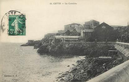 """/ CPA FRANCE 34 """"Cette, la Corniche """""""
