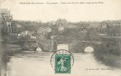 """/ CPA FRANCE 79 """"Thouars, vue générale"""""""