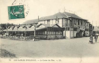 """/ CPA FRANCE 85 """"Sables d'Olonne, le casino des Pins"""""""