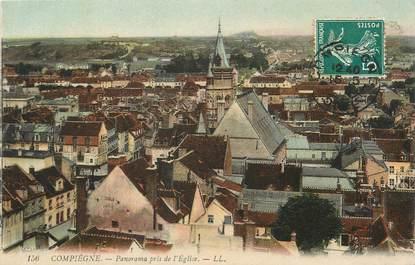"""/ CPA FRANCE 60 """"Compiègne, panorama pris de l'église"""""""