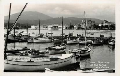 """CPSM FRANCE 83 """"Sainte Maxime, le port"""""""
