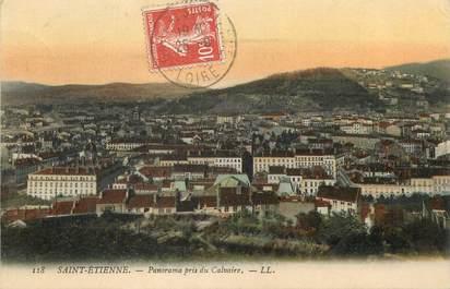 "/ CPA FRANCE 42 ""Saint Etienne, panorama pris du Calvaire"""