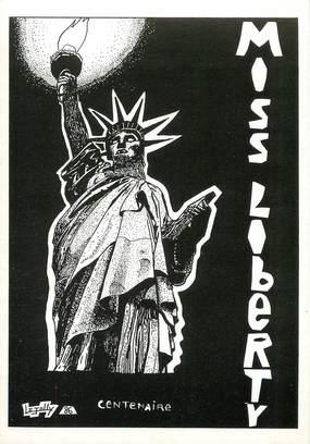 """CPSM ILLUSTRATEUR  LE JOLLY """"Statue de la Liberté"""""""