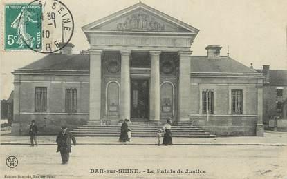 """/ CPA FRANCE 10 """"Bar Sur Seine, le palais de justice"""""""