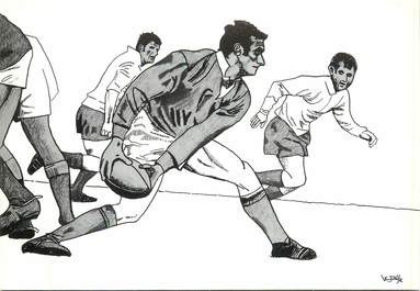 CPSM ILLUSTRATEUR  LE JOLLY  / RUGBY