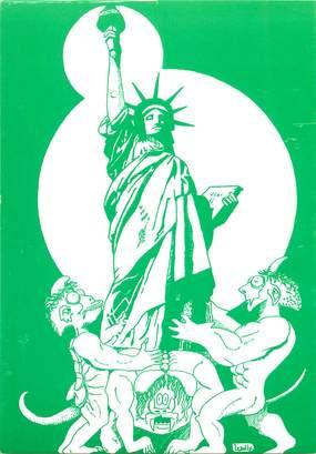 CPSM ILLUSTRATEUR  LE JOLLY  / Statue de la Liberté