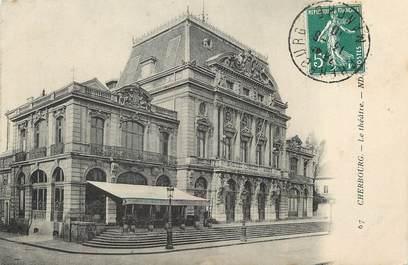 """/ CPA FRANCE 50 """"Cherbourg, le théâtre """""""