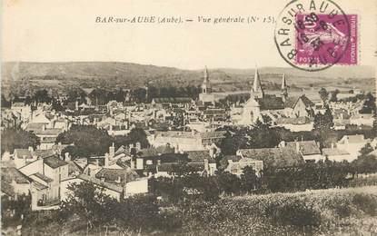 """/ CPA FRANCE 10 """"Bar sur Aube, vue générale"""""""