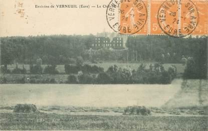 """/ CPA FRANCE 27 """"Environs de Verneuil, le château"""""""