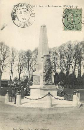 """/ CPA FRANCE 27 """"Bourgtheroulde, le monument"""""""