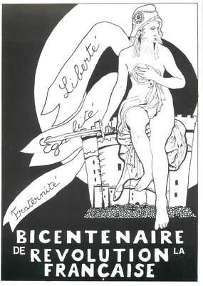 CPSM  ILLUSTRATEUR   LE  JOLLY   /  Bicentenaire de la Révolution française