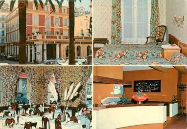 "CPSM FRANCE 06 ""Menton, Hotel restaurant des Arcades"""