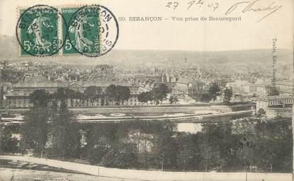 """/ CPA FRANCE 25 """"Besançon, vue prise de Beauregard"""""""