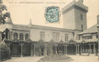 "/ CPA FRANCE 78 ""Saint Germain en Laye, Spa Français"""