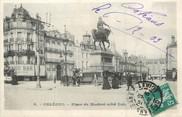 """45 Loiret / CPA FRANCE 45 """"Orléans, place du Martroi"""""""