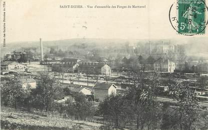 """/ CPA FRANCE 52 """"Saint Dizier, vue d'ensemble des Forges de Marnaval"""""""