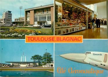 """CPSM FRANCE 31 """"Toulouse"""" / AÉROPORT"""