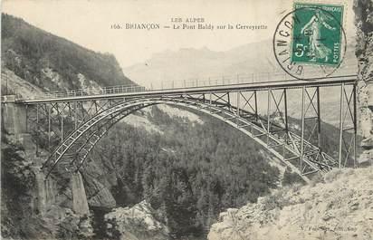 "/ CPA FRANCE 05 ""Briançon, le pont Baldy"""