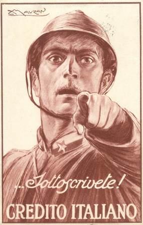 "CPA  ILLUSTRATEUR MAUZAN ""Italie"""