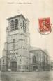 """02 Aisne / CPA FRANCE 02 """"Chauny, l'église Saint Martin"""""""