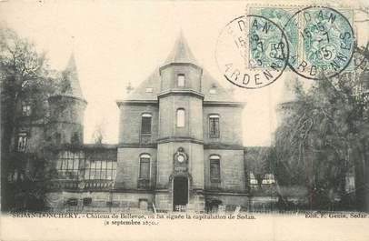 "/ CPA FRANCE 08 ""Sedan DOnchery, château de Bellevue"""