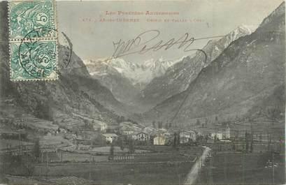 "/ CPA FRANCE 09 ""Ax Les Thermes, Orgeix et vallée d'Orlu"""