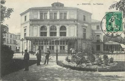 "/ CPA FRANCE 10 ""Troyes, le théâtre"""