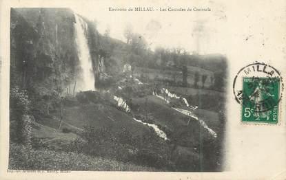 """/ CPA FRANCE 12 """"Environs de Millau, les cascades de Creissels"""""""
