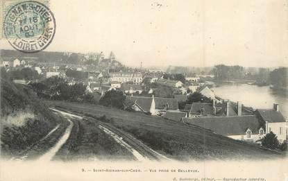 """/ CPA FRANCE 41 """"Saint Aignan sur Cher, vue prise de Bellevue"""""""
