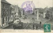 """68 Haut Rhin / CPA FRANCE 68 """"Dannemarie, place des Halles"""""""