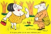 """Illustrateur  CPSM   ILLUSTRATEUR MEUNIER  """"  et le gros gibier..."""""""
