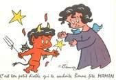"""Illustrateur  CPSM   ILLUSTRATEUR MEUNIER  """" Diable"""""""