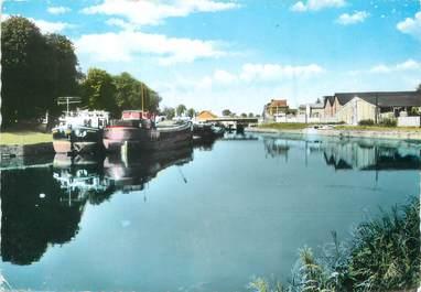 """/ CPSM FRANCE 59 """"Landrecies, le canal"""""""