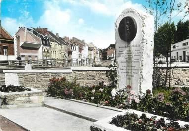 """/ CPSM FRANCE 59 """"Landrecies, le monument du général Charles"""""""