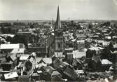 """59 Nord / CPSM FRANCE 59 """"Solesmes, l'église et l'hôtel de ville"""""""