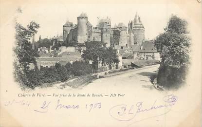 """/ CPA FRANCE 35 """"Château de Vitré"""""""