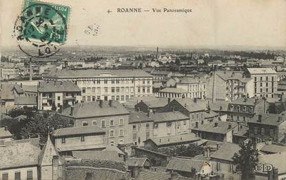 """/ CPA FRANCE 42 """"Roanne, vue panoramique"""""""