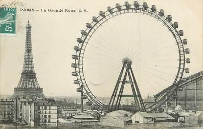 """/ CPA FRANCE 75015 """"Paris , la grande roue"""""""
