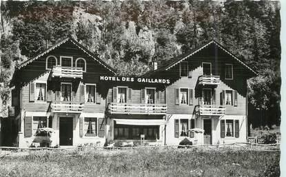 """/ CPSM FRANCE 74 """"Chamonix Mont Blanc, hôtel des Gaillands"""""""