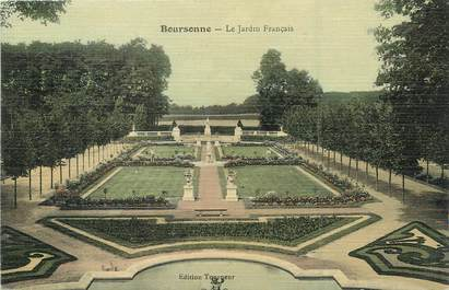 """/ CPA FRANCE 60 """"Boursonne, le jardin français"""""""