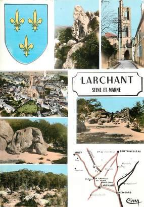 """CPSM FRANCE 77 """"Larchant"""""""